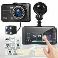 4 Zoll 1080P Dashcam Dashboard Kamera Recorder Auto DVR Kamera Recorder Dual Lens vorne und hinten HD Dash Cam
