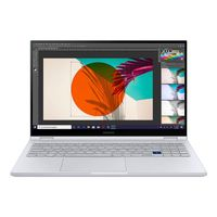 Samsung Galaxy Book Flex 15,6'Convertible-Laptop, Farbe: Silber