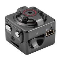 Mini Kamera 720P Tragbare Kleine Überwachungskamera Mikro Nanny Cam mit Bewegungserkennung und Nachtsicht für Innen und Aussen