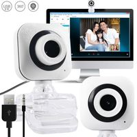 USB 2.0 480P Webcam Computer Kamera Mikrofon Laptop Videokonferenz 360 Drehbar