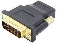Adapter 24+5-polig DVI-Stecker / HDMI-Buchse vergoldet