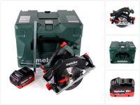 Metabo KS 18 LTX 57 Akku Handkreissäge 18V 165x20mm+ 1x Akku 5,5Ah + MetaLoc - ohne Ladegerät