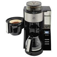 Melitta AromaFresh 1021-02 schwarz Filterkaffeemaschine integriertes Mahlwerk