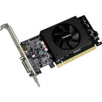 Gigabyte Ultra Durable 2 GV-N710D5-2GL GeForce GT 710 Grafikkarte - 2 GB GDDR5 - Low Profile - 954 MHz Kern - 64 Bit Bus-Breite - HDMI - DVI