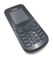"Nokia 130 (2017) mit 1,8"" (4,57 cm) Dual SIM,  Bluetooth, 1020 mAh, Schwarz"