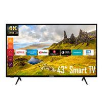 Telefunken XU43K521 43 Zoll Fernseher (Smart TV inkl. Prime Video / Netflix / YouTube, 4K UHD, HDR)