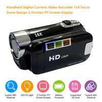 Digitalkamera Videorecorder 16X F-ocus Zoom Design 2,7 Zoll TFT-Bildschirmanzeige Unterstuetzte SD-Karte Batteriebetrieben Betrieb fuer Video-S-Tudio
