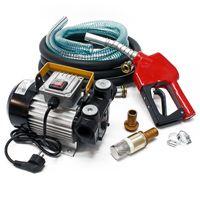 Dieselpumpe Heizölpumpe selbstansaugend 230V/550W 60l/min Automatik Pistole