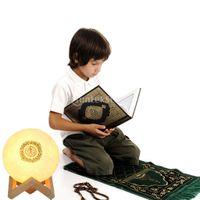 Quran Recite Bluetooth Speaker 7 Farbmondlampe Mit Fernbedienung