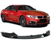 Front Spoiler Lippe Ansatz Stoßstange Sport Optik Carbon Look für BMW 4er F32