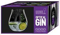 Riedel Gin Gläser-Set 4-er 'Optical O' 762ml, Farbe:Klar