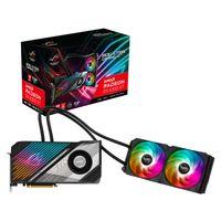 ASUS ROG Strix LC AMD Radeon RX 6900 XT 16G Top Edition Gaming Grafikkarte mit Wasserkühlung