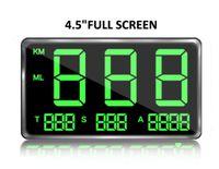 C80 Auto Digital GPS Tachometer Geschwindigkeit Speedometer KM/h Tacho