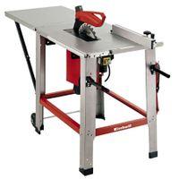Einhell Tischkreissäge TE-TS 2231 U (2200 W, Profi-Sägeblatt-Ø 315 mm, Schnitthöhe 83 mm, Tischgröße 800x550 mm, Verlängerung, Untergestell)
