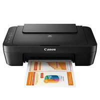 Canon Multifunktions-3-in-1-Tintenstrahldrucker PIXMA MG 2550S - Farbe - USB - A4 - Schwarz