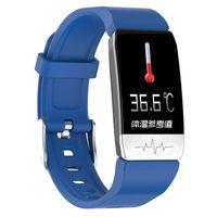 Smart Bracelet Smart Wristband Multifunktions-EKG + Temperaturerkennung Bunte Bildschirmš¹berwachung Schlaf