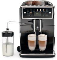 Saeco SM7580 /7581 /00 Vollautomatische Espressomaschine, Kunststoffgehäuse, 1,7 l FÃ1/4llmenge, 450 g Bohnenbehälter, Einstellbare BrÃ1/4htemperatur, Integriertes Mahlwerk, Milchaufschäumer, Wasserfilter, Reinigungsfunktion