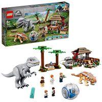 LEGO 75941 Jurassic World Indominus Rex vs. Ankylosaurus, Dinosaurier-Set mit Gyrosphäre