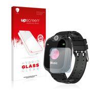 upscreen Hybrid Glass Clear Premium Panzerglasfolie für MeritSoar Children?s Smartwatch