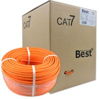 200 m CAT.7 Verlegekabel BEST Gigabit Netzwerkkabel KUPFER Lan 1000Mhz S/FTP