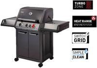 Enders Gasgrill » Monroe Black Pro 3 K « 11.2 kW - Turbo Zone - 83716