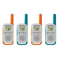 Motorola Solutions TALKABOUT T42 two-way radio 16 channels Blue Orange White
