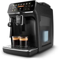 Philips 4300 series Kaffeevollautomat für 5 Kaffeespezialitäten, Espressomaschine, 1,8 l, Kaffeebohnen, Eingebautes Mahlwerk, 1500 W, Schwarz