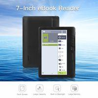 eBook-Reader BK7019 7 Zoll 16 GB Multifunktions E-Reader Hintergrundbeleuchtung Farb LCD Bildschirm 【e-Book + Kopfhörer + Schutzhülle】