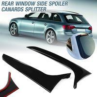 2x Rückseite Fenster Side Spoiler Canards Für Audi A4 B8 Allroad Avant 09-16