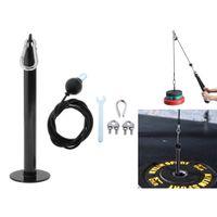 1 Stück verstellbares Kabel , 1 Stück Gewichtsplatten Loding Pin 2M 2,5M Einstellbar 2,5 m