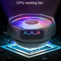 CPU Kühler Kühlkörper LED RGB Lüfter für Intel 775 / 115X AMD / AM3 (+) / AM2 (+)
