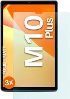 moex® 3x Schutzfolie kompatibel mit Lenovo Tab M10 Plus - Displayschutzfolie Anti Reflex Folie, Matt