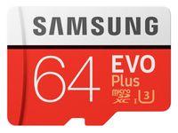 Samsung microSDXC Karte 64 GB EVO Plus Class 10