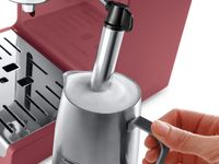 DeLonghi Active Line ECP33.21.R, Arbeitsfläche, Kombi-Kaffeemaschine, 1,1 l, Gemahlener Kaffee, 1100 W, Farbe: Rot