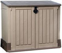 Keter Universalbox Store It Out MIDI Woodland, ca. H 110 x B 132 x T 74 cm, Farbe: Braun