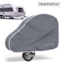 Tarpofix® Deichselabdeckung für Wohnwagen & Anhänger - Deichselhaube Deichselschutz groß - Grau