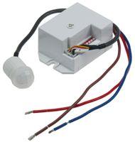 ChiliTec Einbau-Bewegungsmelder CT-PIR Mini 230V, 800W, Ø 15mm, LED geeignet, weiß
