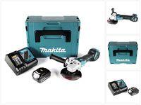 Makita DGA 511 RT1J Akku Winkelschleifer 18V 125mm Brushless + 1x Akku 5,0Ah + Ladegerät + Makpac