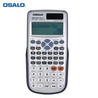 OSALO OS-991ES PLUS Engineering Scientific Rechner Dual-Netzteil Calculadora mit Knopfbatterie 417 Funktionen für wissenschaftliche Taschenrechner College-Aufnahmeprüfung
