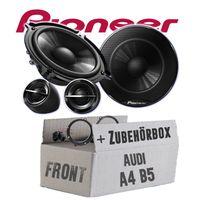 Audi A4 B5   Tür vorne - Pioneer TS-G133Ci - 13cm Lautsprecher Einbauset
