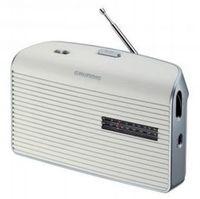 Grundig Music 60 - Radio - 0.5 Watt - weiß, Silber