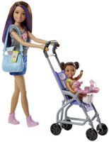 """Barbie """"Skipper Babysitters Inc."""" Puppen und Kinderwagen Spielset"""