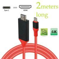 PMS Type C USB-C auf HDMI 1080P 4K Typ C Zu HDMI TV Kabel Adapter Konverter Für Samsung HUAWEI Macbook Rro