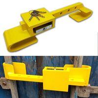 Container Schloss Sicherheitsschloss Diebstahlschutz Bügelschloss 4 Schlüssel