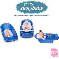 Baby BadeNetz Multi-Funktionales Waschnetz Badesitz Sevibaby Badewannensitz Weiß 8697-0