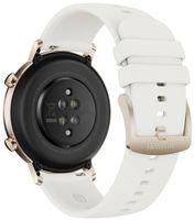 Huawei GT 2 (42 mm) Smartwatch, GPS (Satellit), AMOLED, Touchscreen, Pulsmesser, Aktivitätsüberwachung 24/7, Wasserdicht, Bluetooth, Frost