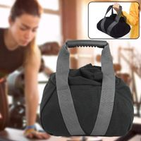 1 Stück Sandsack Kettlebell Gewichtheben Leinwand Muskeltraining Fitness für zu Hause HHA200408998