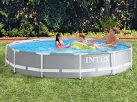 Intex 26710 - Gartenpool Prism 366 x 76 cm Metal Frame Pool