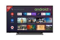 Toshiba 43LA3B63DA 43 Zoll Fernseher (Android TV inkl. Prime Video / Netflix, HDR10, Full HD)