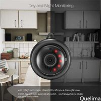 Mini Kamera Überwachungskamera WLAN 1080p, HD Bluetooth Camera Tragbare WiFi IP Kleine Kamera mit Bewegungsmelder